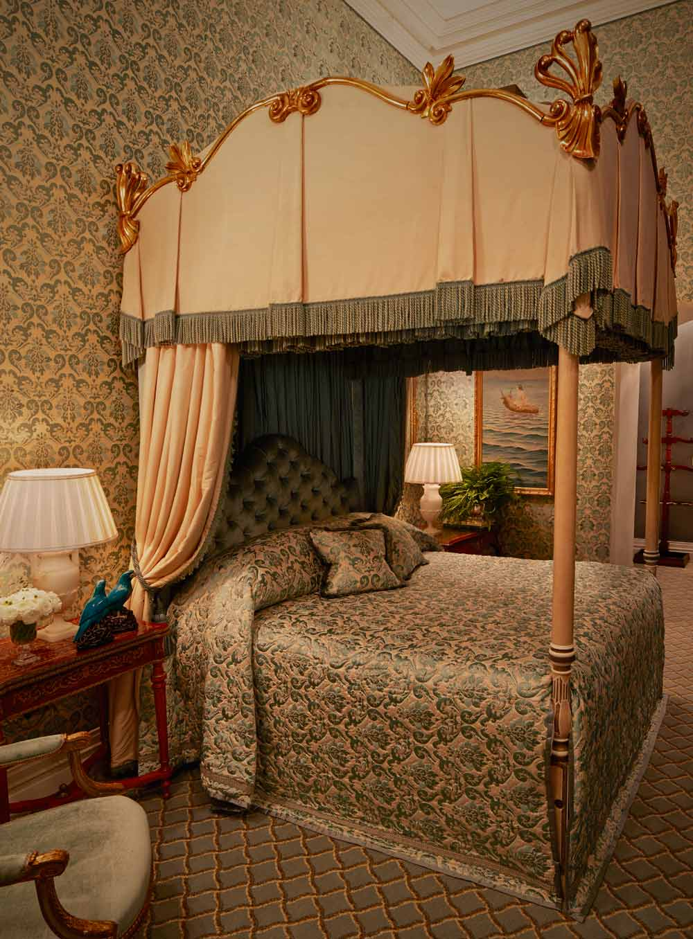 Corrib Lake View Room at Ashford Castle, County Mayo, Ireland