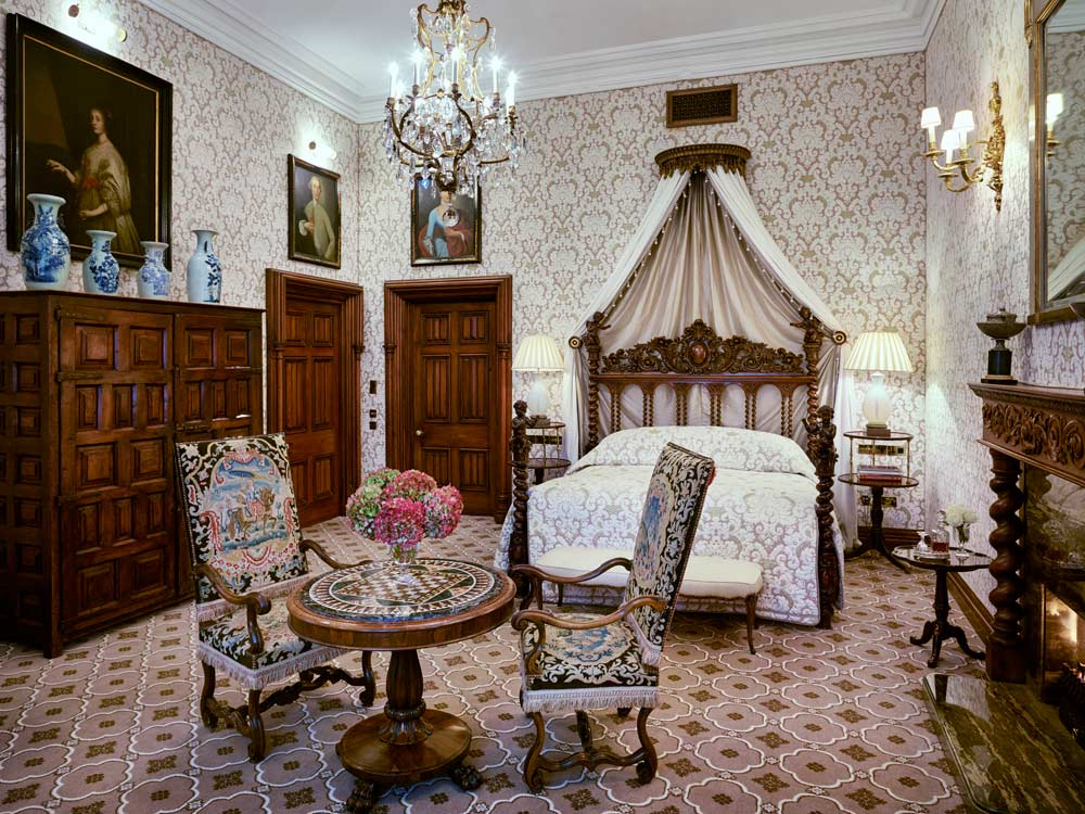 Guest Room at Ashford Castle, County Mayo, Ireland