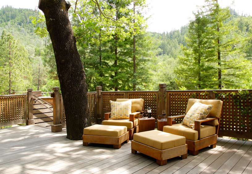 Bay Forest Lodge with Spa Patio at The Calistoga Ranch