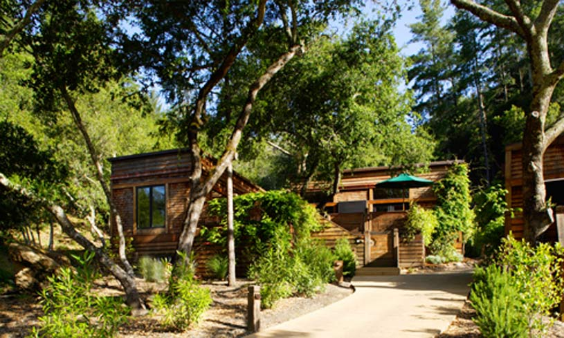 Bay Forest Lodge with Spa at The Calistoga Ranch