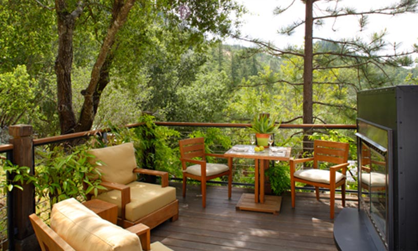 Hillside Deluxe Lodge at The Calistoga Ranch