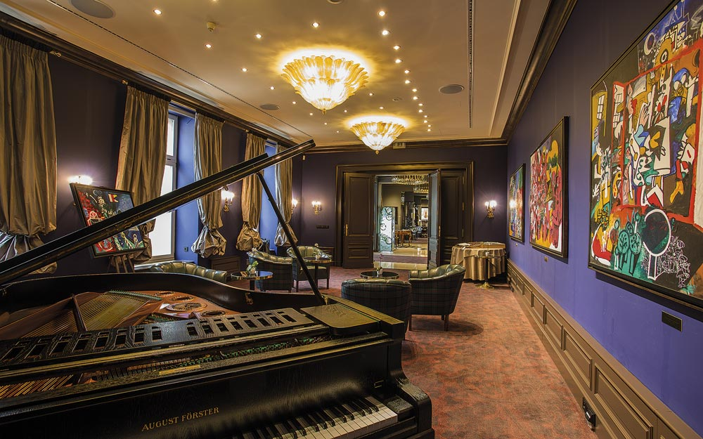 Piano at Le Palais Art Hotel Prague