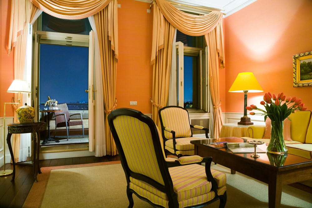 Balcony Suite at Le Palais Art Hotel Prague