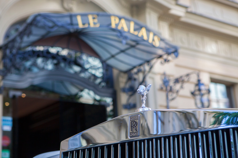 Exterior of Le Palais Art Hotel Prague