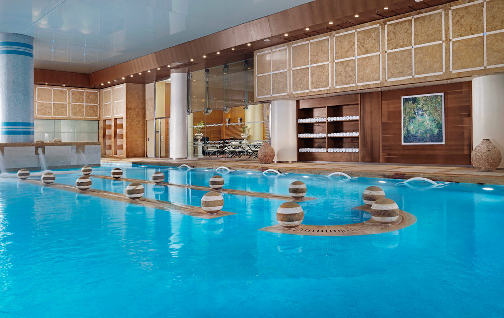 Thalassotherapy Pool at Divani Apollo Palace & Thalasso