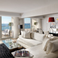 Presidential Suite Living Room at Divani Apollon Palace And Spa, Greece