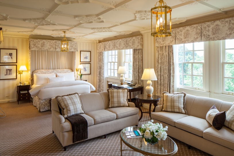 The Lafayette Park Suite at The Hay-Adams Hotel
