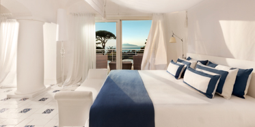 Capritouch Bedroom View at Capri Palace Hotel and Spa, Italy