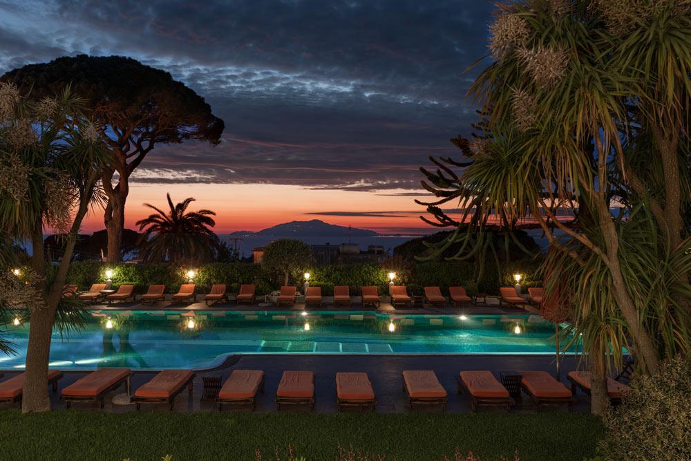The Main Pool at Capri Palace Resort and Spa, Italy