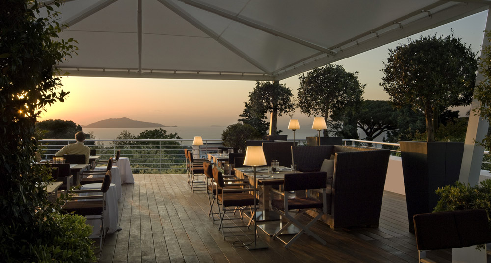 Ragu Bistrot at Capri Palace Hotel and Spa, Italy