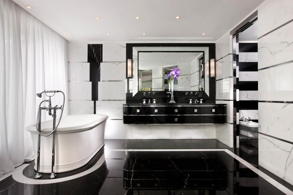 Paltrow Suite Bath at Capri Palace Resort and Spa, Italy