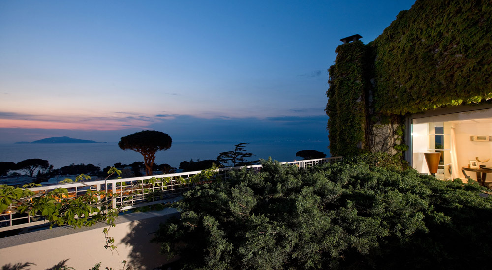 Roof Garden at Capri Palace Resort and Spa, Italy