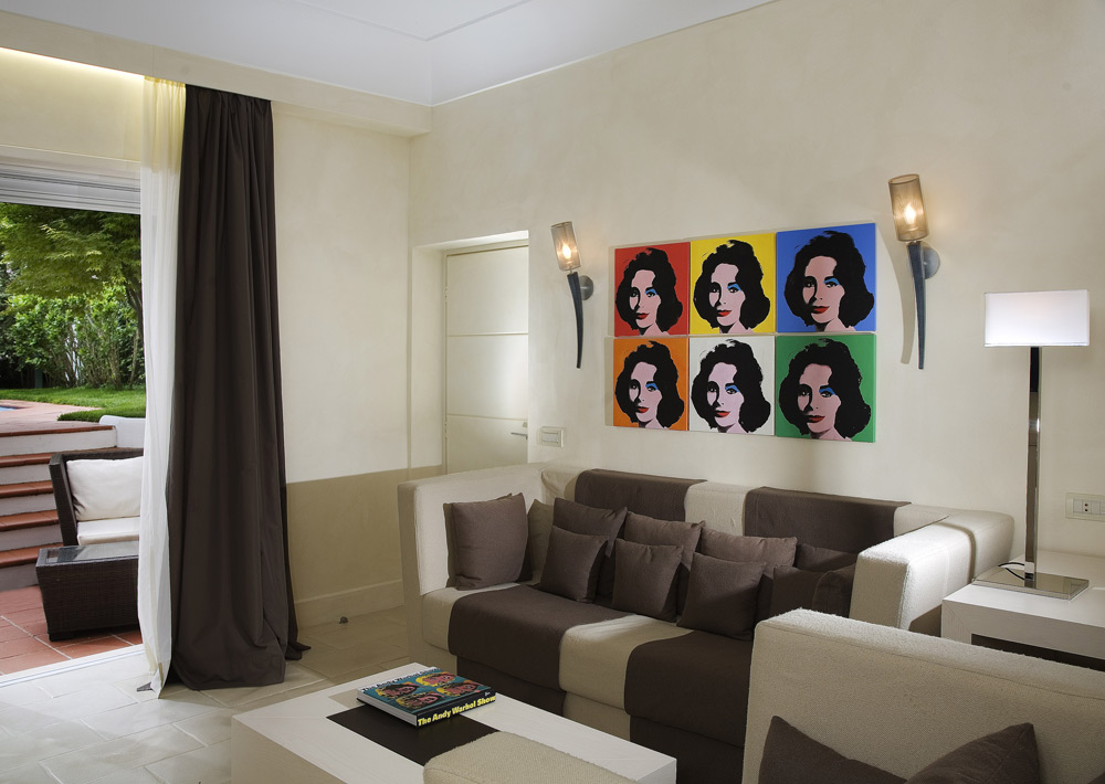 Warhol Suite at Capri Palace Resort and Spa, Italy