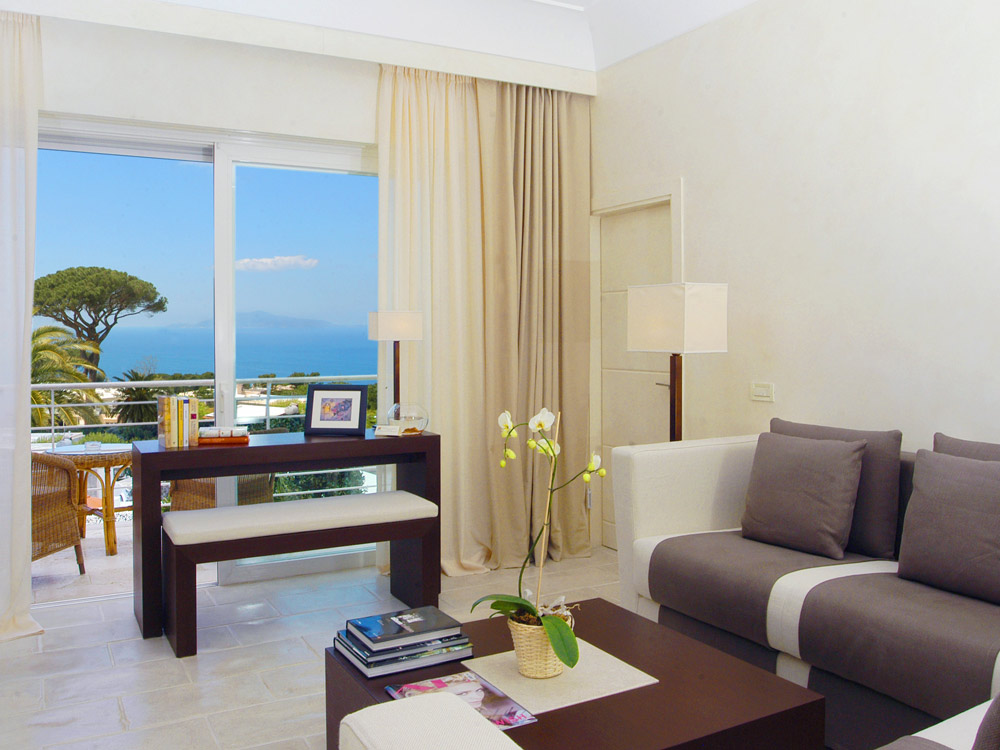 Kandinsky Suite at Capri Palace Resort and Spa, Italy