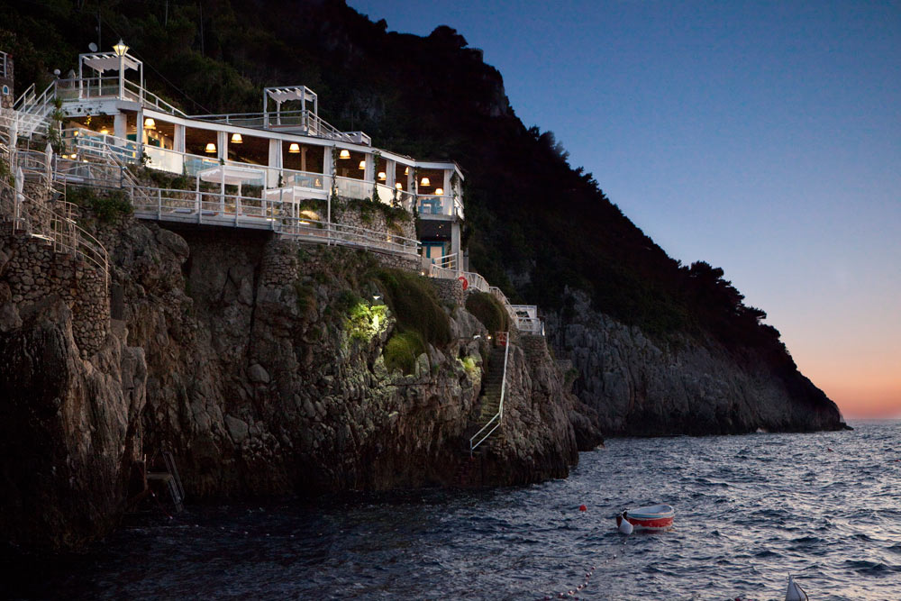 The Beach Club at the Capri Palace Hotel