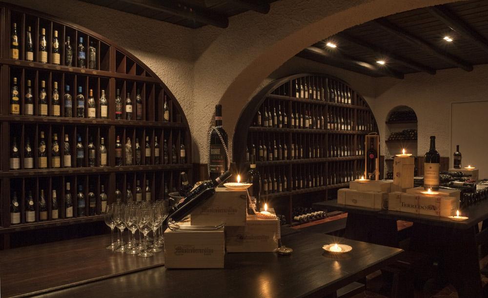 Wine Cellar at Capri Palace Resort and Spa, Italy
