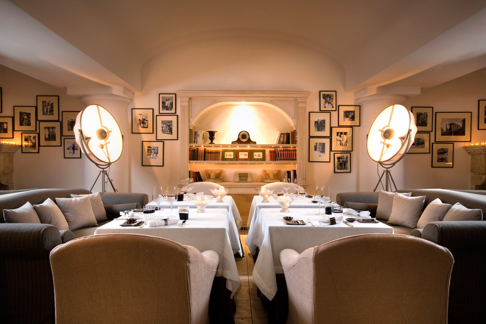 LO' livo Restaurant at Capri Palace Resort and Spa, Italy