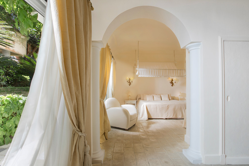 Hill Side Junior Suite at Capri Palace Resort and SpaItaly