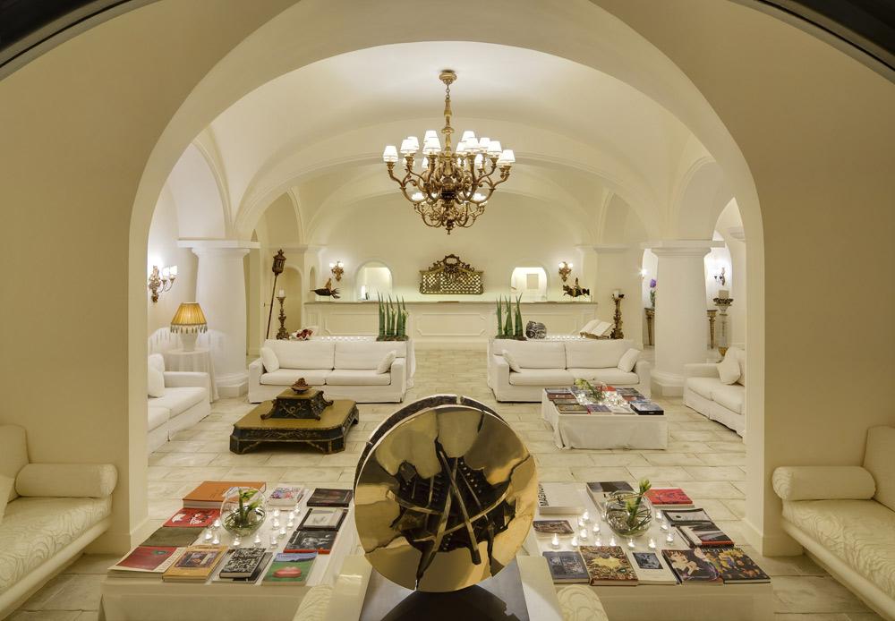 Capri Palace Hotel and Spa Lobby, Italy