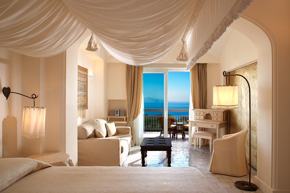 Deluxe Room Sea Side at Capri Palace Resort and SpaItaly