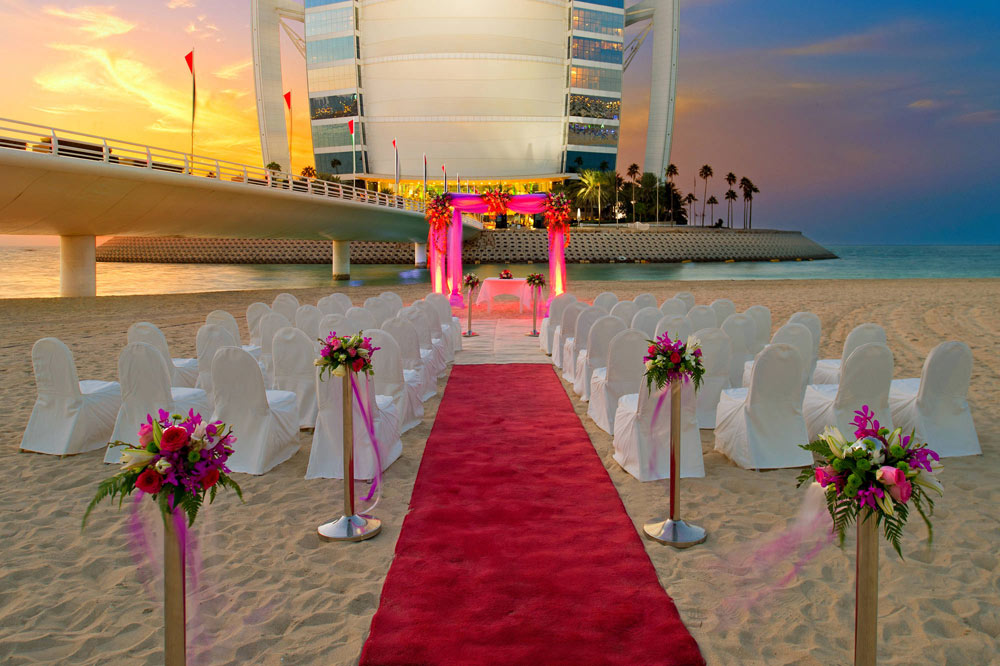 Wedding Venue at Jumeirah Beach HotelDubaiUnited Arab Emirates