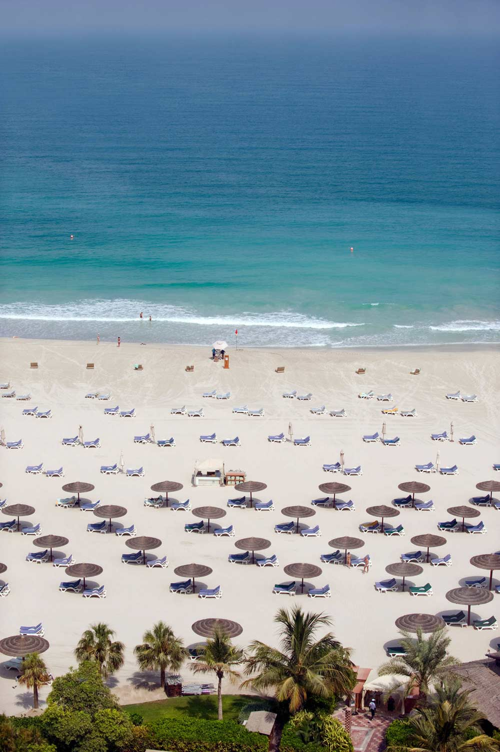 Private Beach at Jumeirah Beach HotelDubaiUnited Arab Emirates