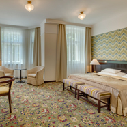 Guestroom at Hotel Savoy Prague
