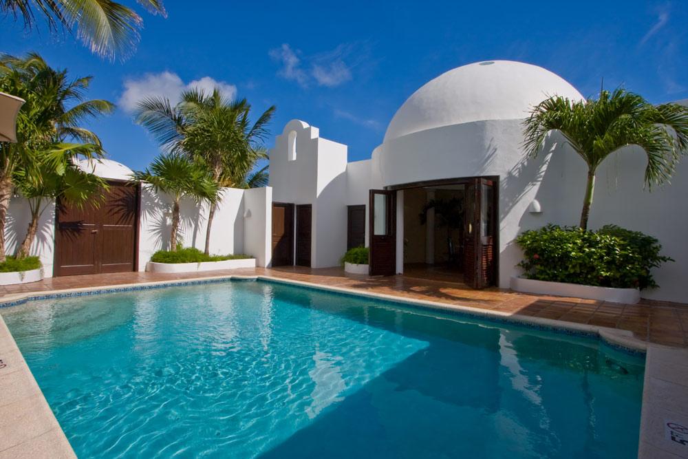 Cap Juluca pool, Maundays Bay, Anguilla