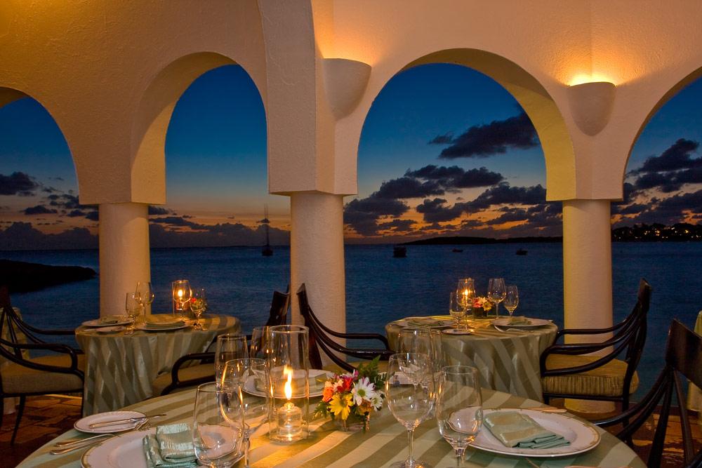 Cap Juluca dining venue, Maundays Bay, Anguilla