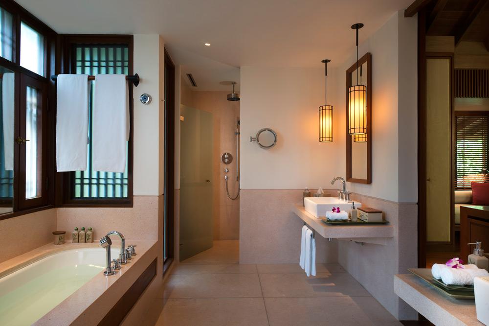 Pool Villa Bathroom at The Datai Langkawi, Malaysia