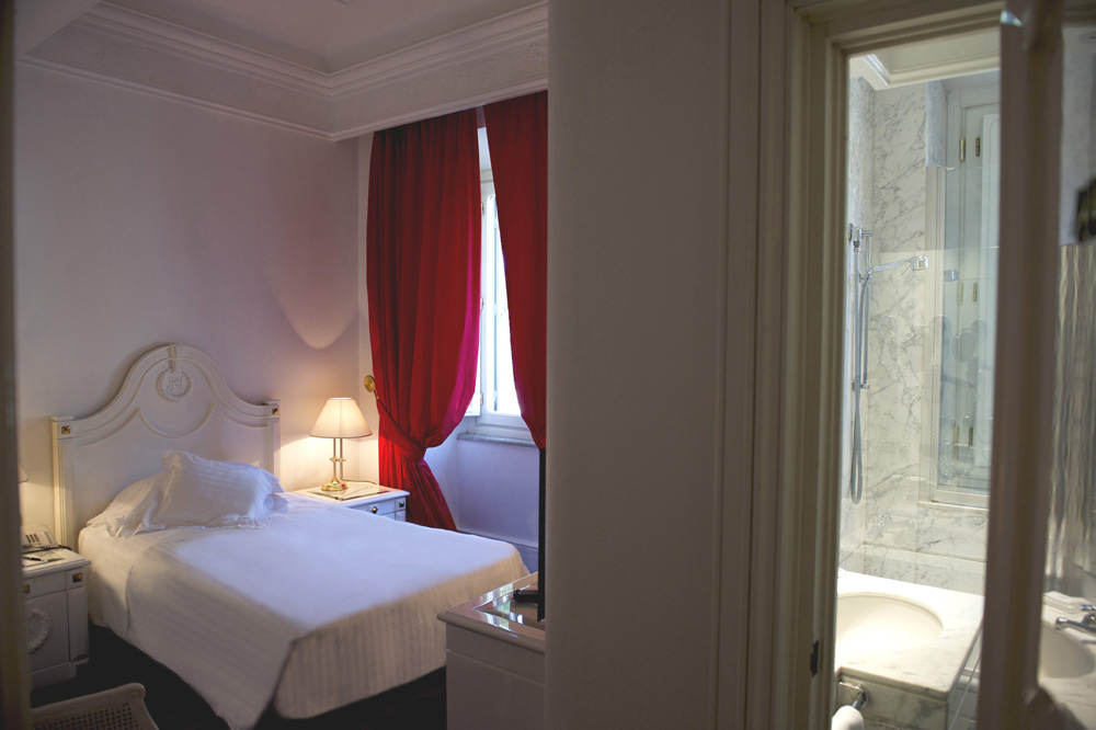 Classic Single Room at The Hotel Majestic RomaItaly