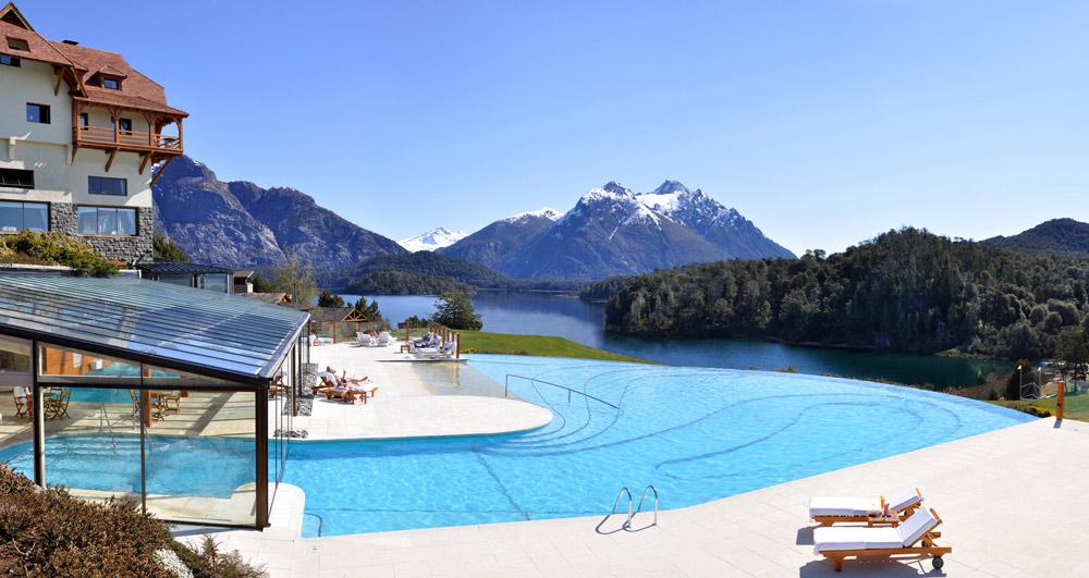Pool at LLao LLao Hotel BarilocheArgentina