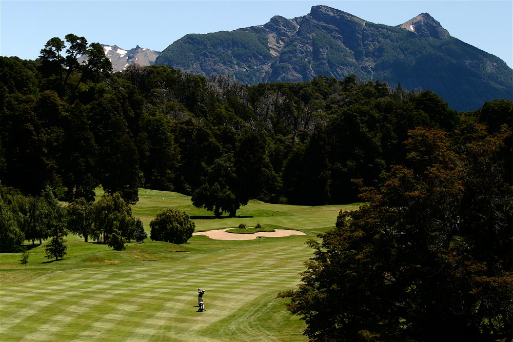 Golf Course at Llao Llao Hotel BarilocheArgentina