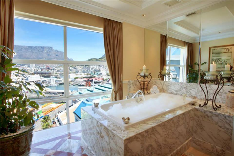 The Table Mountain Head Suite offers guests incredible views of Table Mountain.
