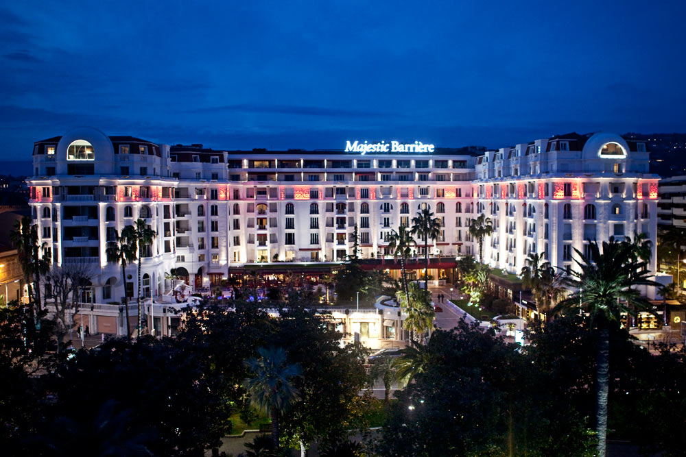 Hotel Barriere Le Majestic Cannes, France