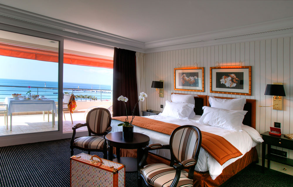 Ocean View Junior Suite at Hotel Barriere Le Majestic CannesFrance