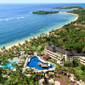 Aerial View of Nusa Dua Beach Hotel And Spa DenpasarIndonesia