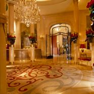Lobby At The Hotel Plaza Athenee Paris