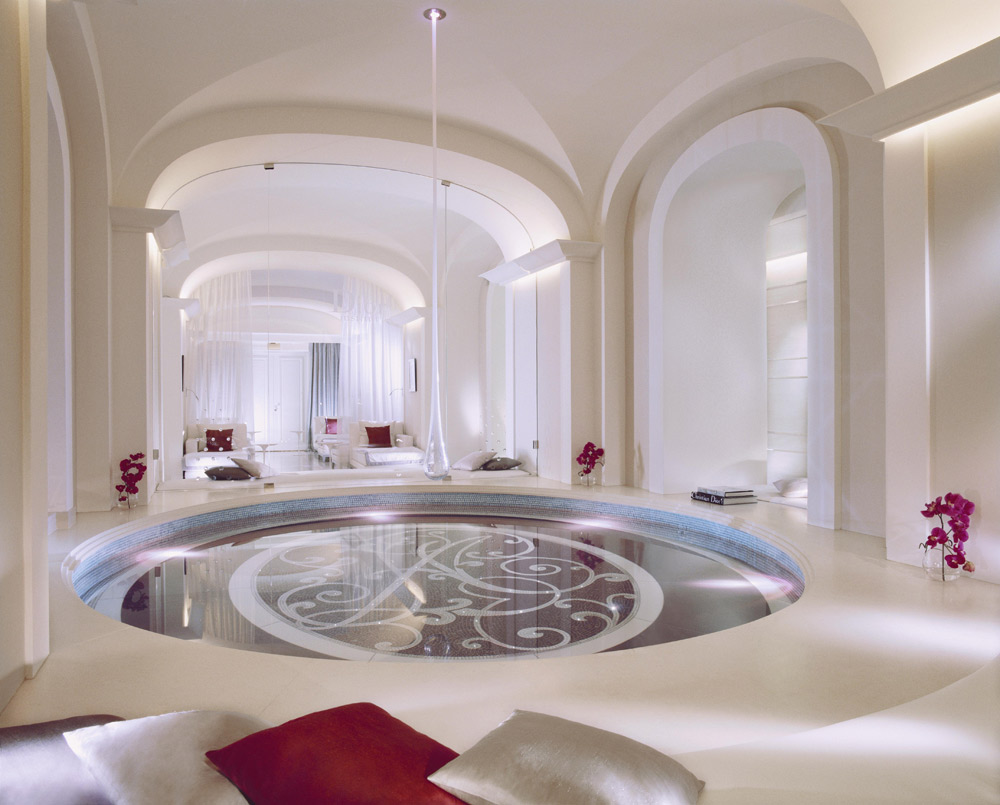 Spa at the Hotel Plaza Athenee Paris