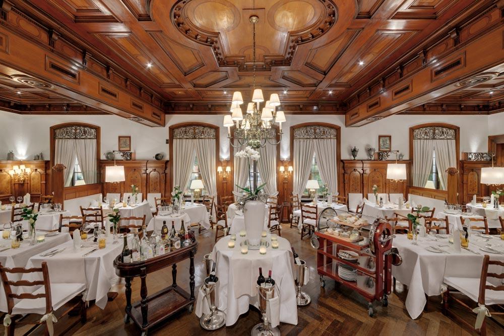Dining room at Europaeischer Hof Hotel Europa, Germany