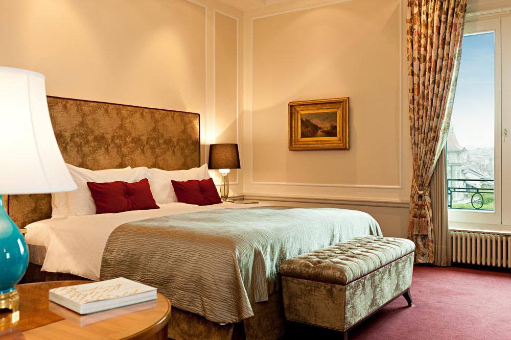 Guest Room at Bellevue PalaceBerneSwitzerland