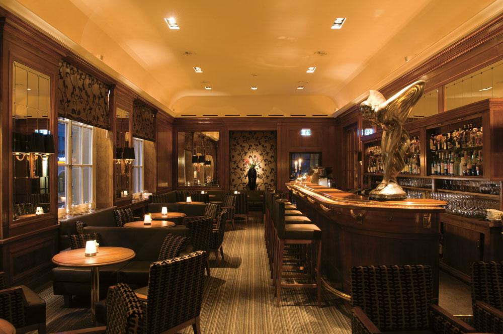 Bar at Bellevue Palace, Berne, Switzerland
