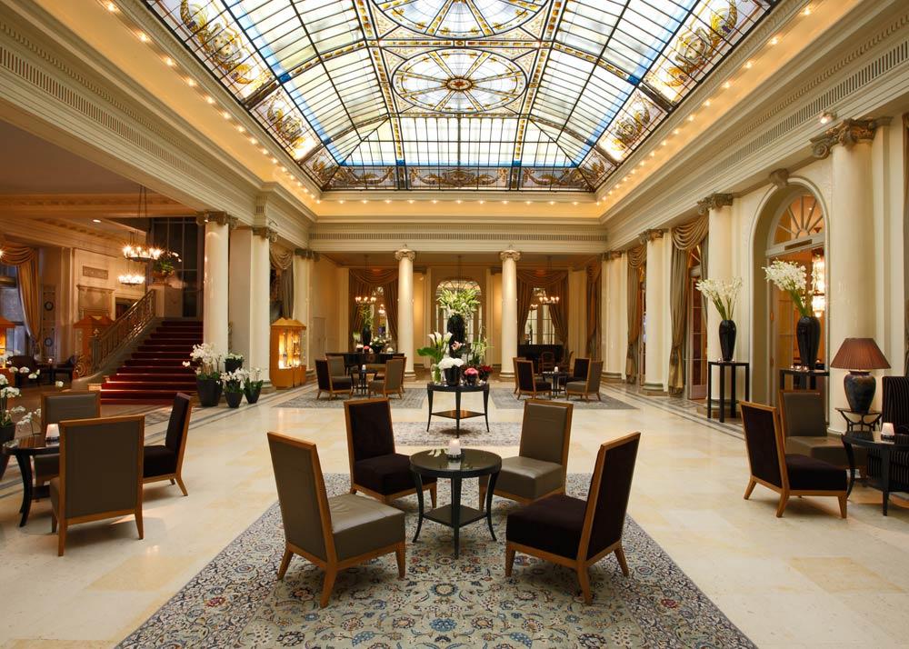Lobby at Bellevue PalaceBerneSwitzerland