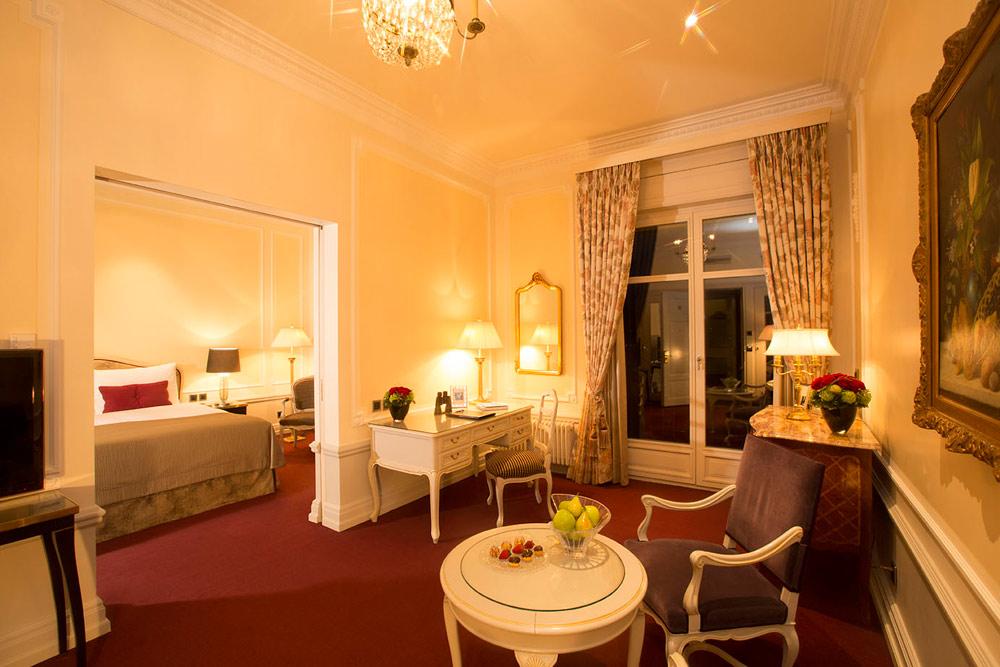 Junior Suite at Bellevue Palace, Berne, Switzerland