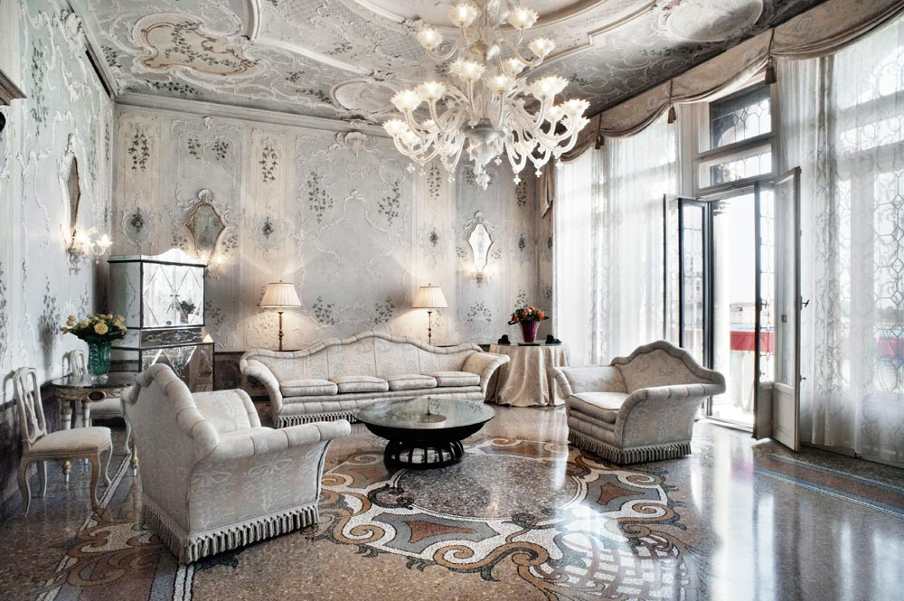 Royal Suite at Bauer Palazzo, Venice, Italy