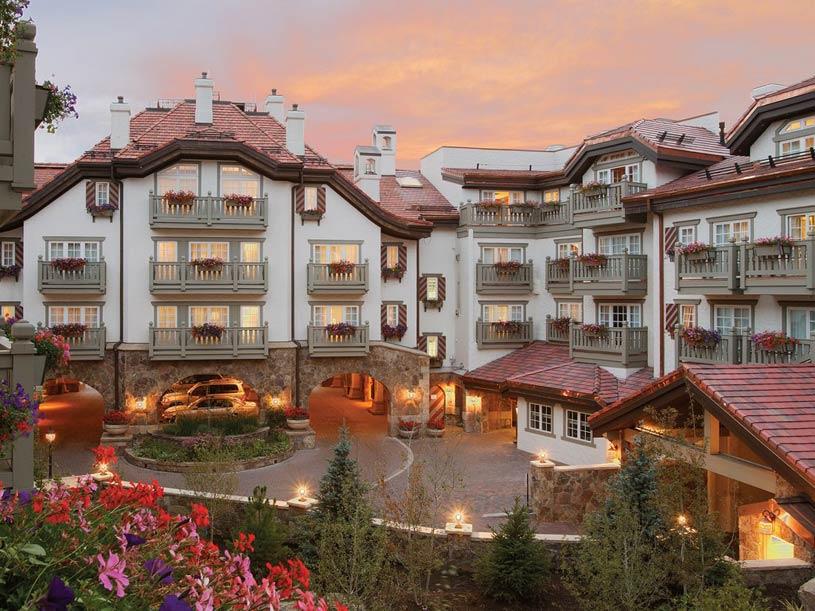 Exterior of Sonnenalp Resort
