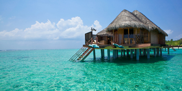 Exterior Water Villa at Kanuhura MaleMaldives