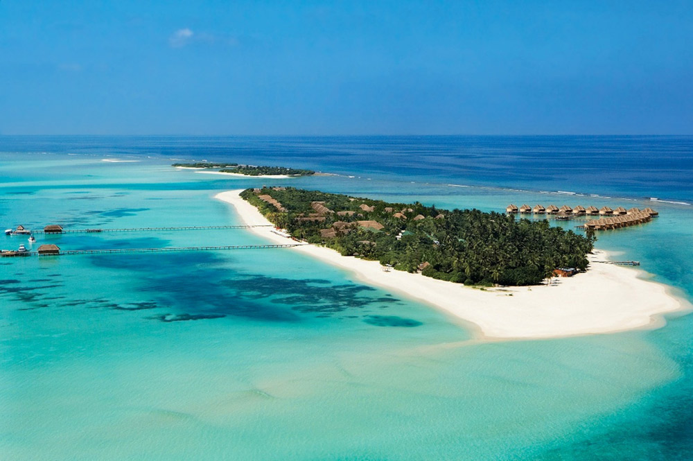 Aerial View at Kanuhura Male, Maldives