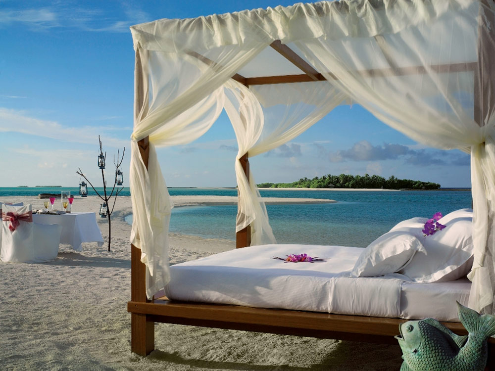 Beach Lounge at Kanuhura Male, Maldives