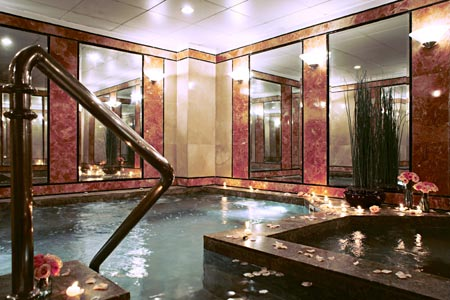 The Peninsula Manila Spa Cold Plunge
